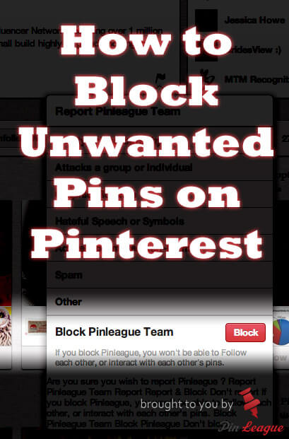 How To Block On Pinterest