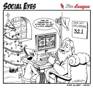 Even Santa Receives Socially Targeted Ads