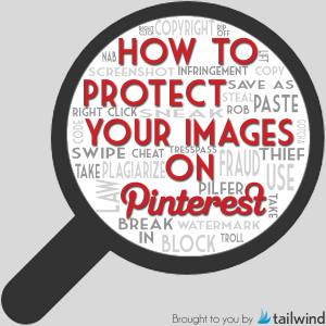 Protect Images on Pinterest