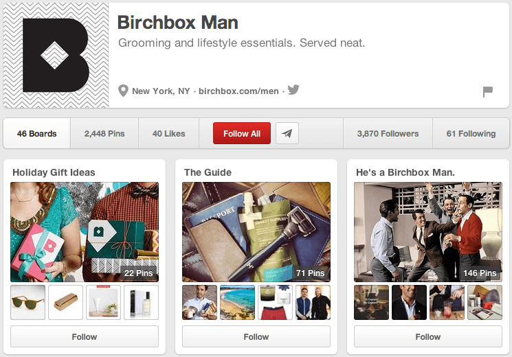 Birchbox Man on Pinterest