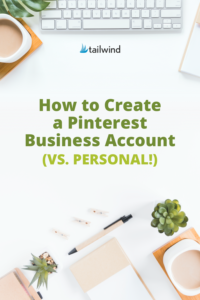 Considering creating a Pinterest business account? Read up on the differences between a personal vs business account and the benefits of both!