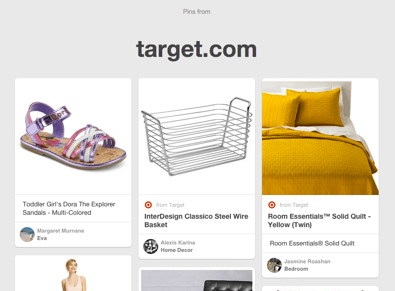 Use the Pinterest source URL hack to steal away pinners from your competition
