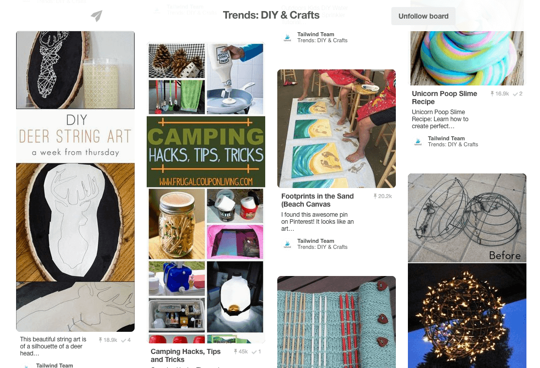 May Pin Trends in DIY & Crafts