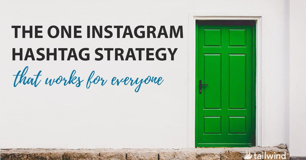 This post takes you through 5 simple steps to create an Instagram hashtag strategy that will work for anyone!