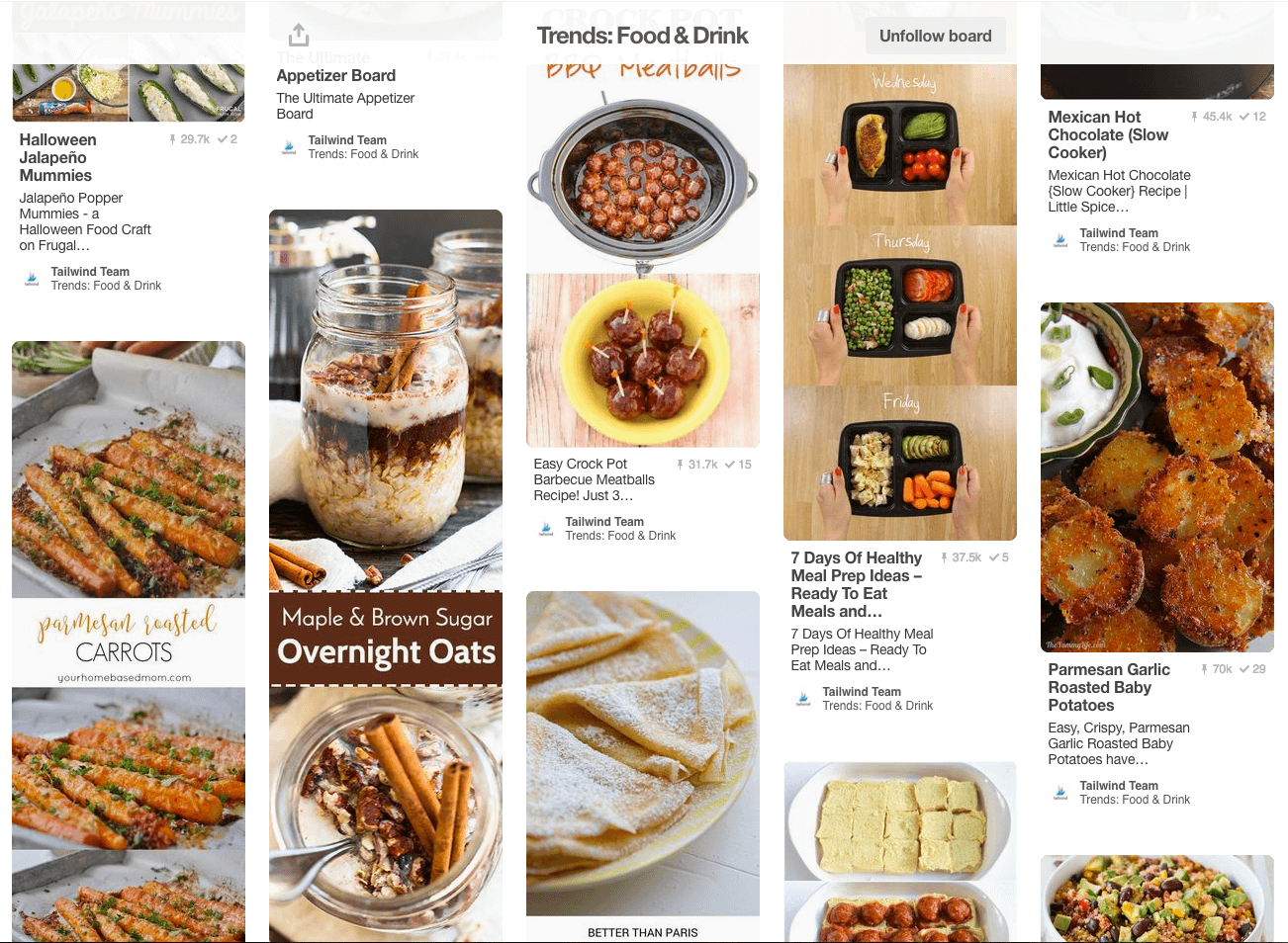 August Food & Drink Trends on Pinterest