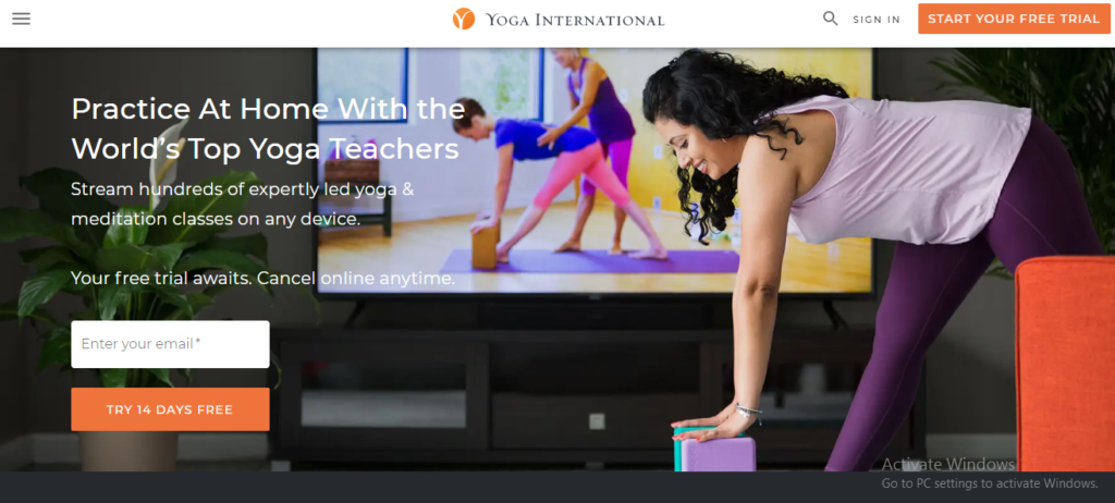 Yoga International affiliate program