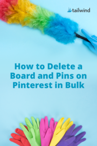 Looking for the easiest way to delete Pinterest boards and pins in bulk? Here are step-by-step instructions and screenshots that will show you how!
