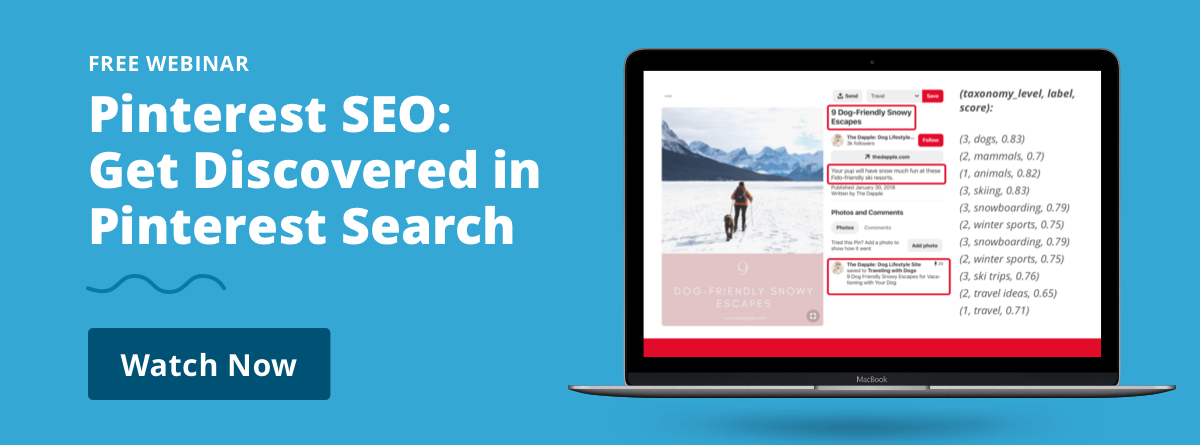 Free Webinar | Pinterest SEO: Get Discovered in Pinterest Search | Watch Now