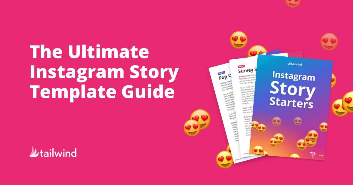 Instagram Story Template Guide