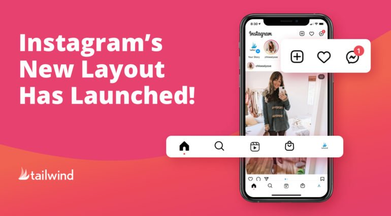 Instagram's New Layout
