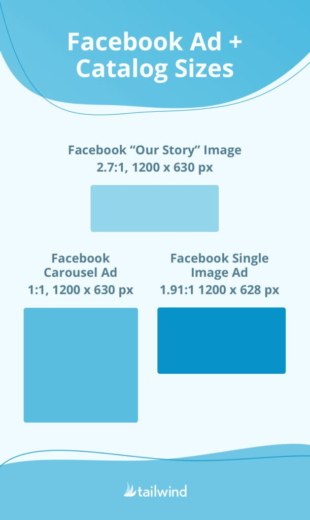 Facebook Ad and Catalog Sizes