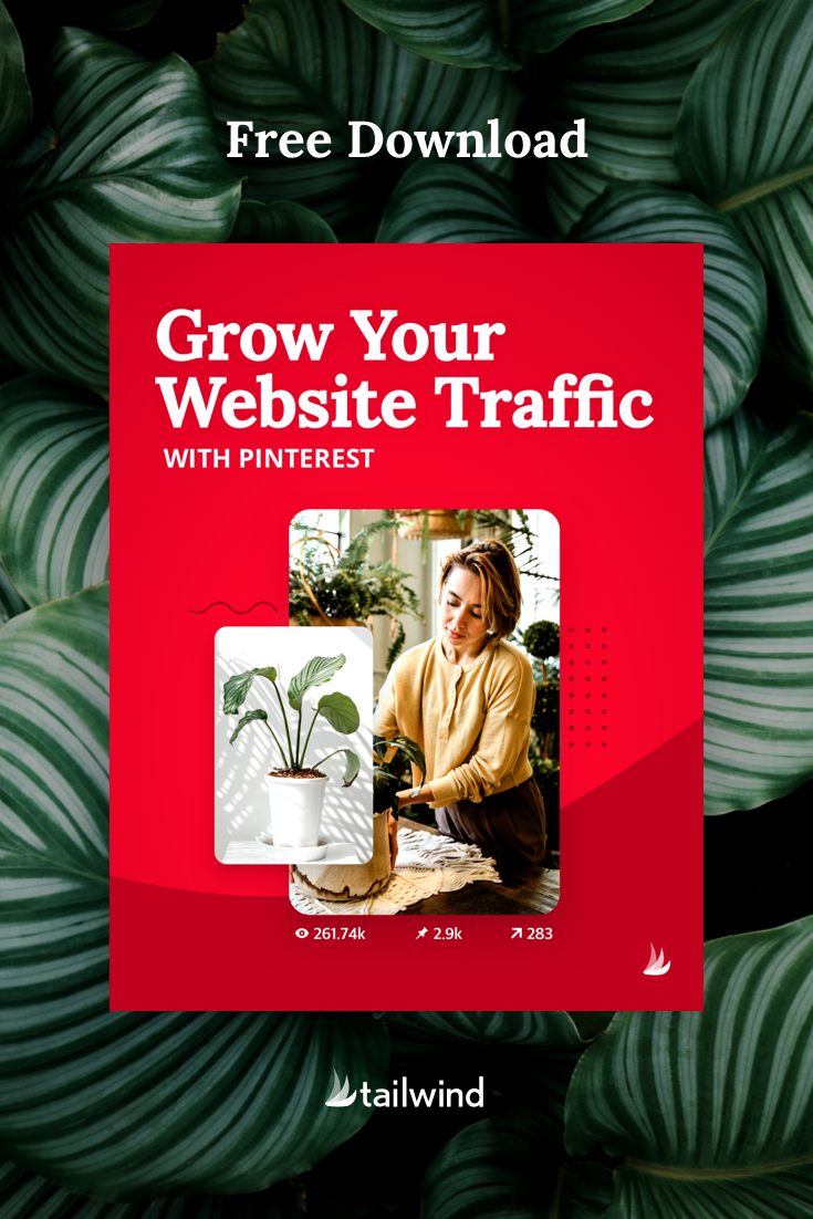 Skyrocket your website traffic with this downloadable guide to organic Pinterest marketing! This simple guide is your no-fluff, no-jargon, no-kidding passport to substantial traffic growth from Pinterest.