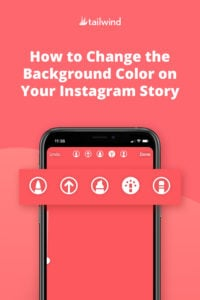 Want to change your Instagram Story background color, but aren't sure how? Here are the three ways to customize  your instagram story background.